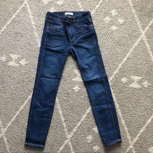 Madewell High Riser Skinny Jeans Medium Wash